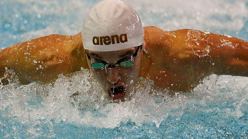 "Santo Condorelli beim ""100m Butterfly"" im Mai 2016"