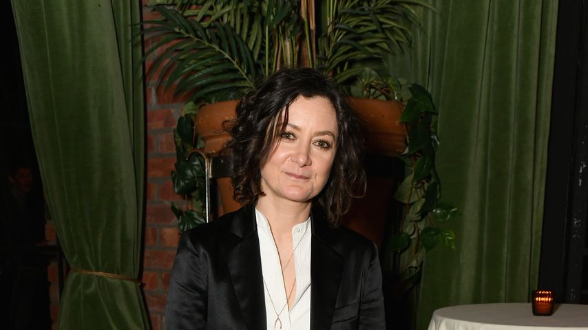 """Big Bang Theory""-Star Sara Gilbert, Mai 2018"