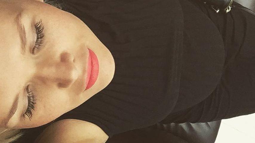 Noch 6 Wochen: Sara Kulkas Baby klopft schon an Bauchdecke