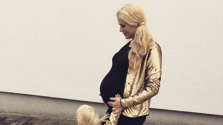Sara Kulka und ihre Tochter Matilda, Oktober 2016