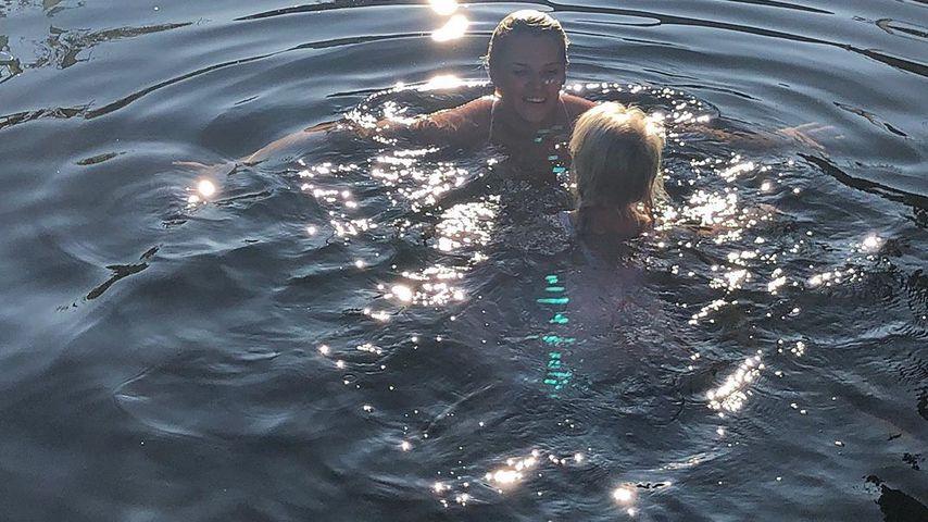 Sara Kulka und Tochter Matilda