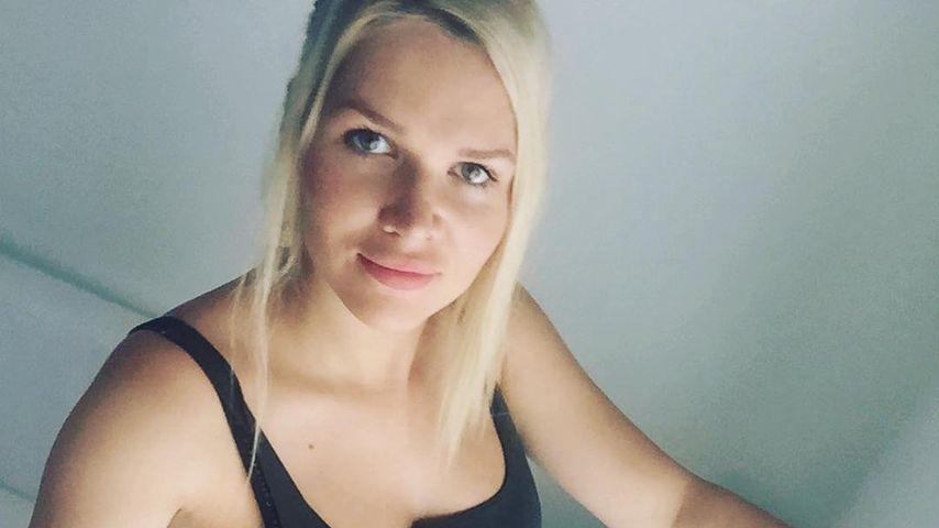 Sara Kulka während ihrer zweiten Schwangerschaft
