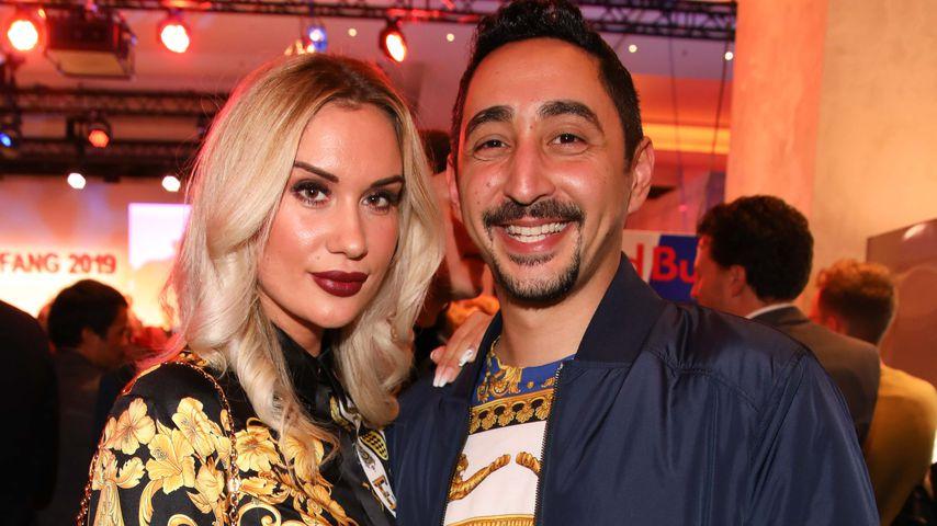 Sarah Bora und Eko Fresh bei der Medienboard Party, Februar 2019