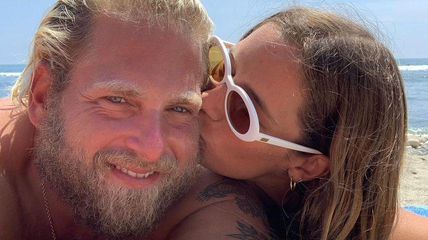 Sarah Brady und Jonah Hill im August 2021
