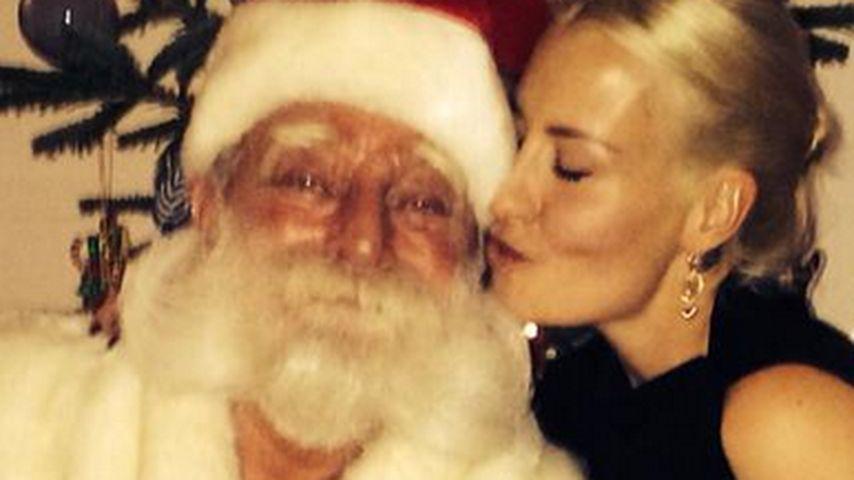 Sarah Connor: Gesang & Küsse in der Weihnachtszeit