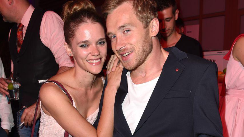 Sarah Elena und Samuel Koch beim Münchener Film Festival im Juli 2014