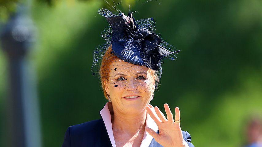 Sarah Ferguson bei der Hochzeit von Prinz Harry und Herzogin Meghan