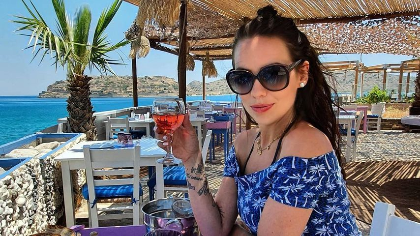 Sarah Gehring im Griechenland-Urlaub