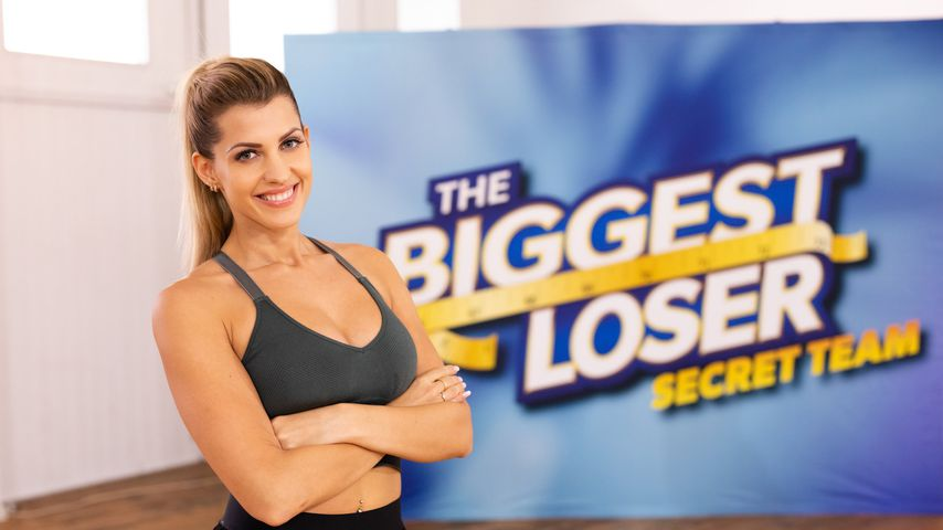 "Sarah Harrison als Trainer des Secret Teams von ""The Biggest Loser"""
