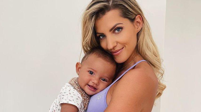 Sarah Harrison sentimental: Tochter Kyla wird ein Jahr alt