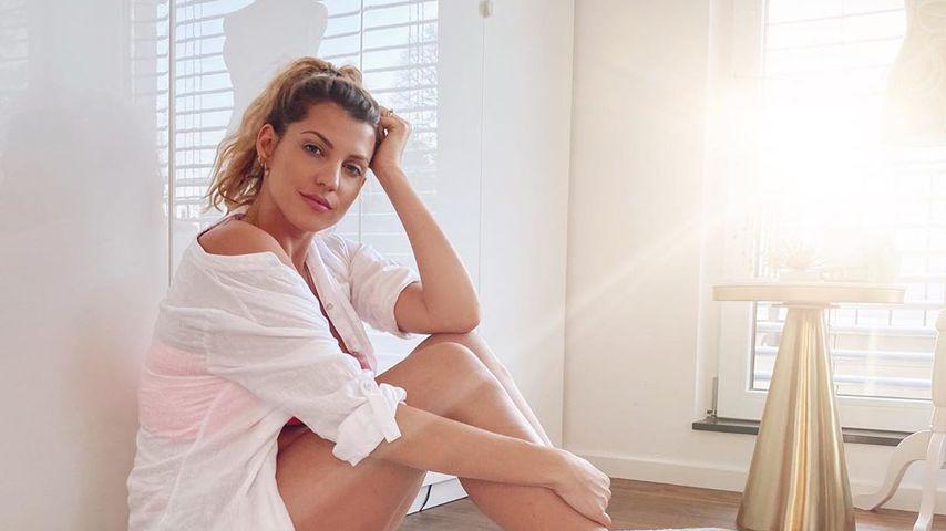 Sarah Harrison im April 2020