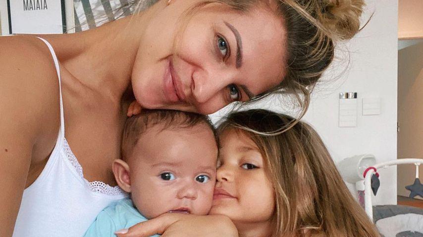 Sarah, Kyla und Mia Rose Harrison