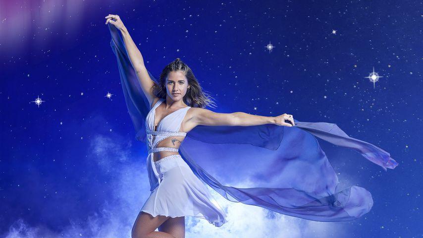 """Allein auf dem Eis: Sarah trainiert für """"Holiday on Ice""""!"""