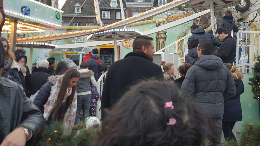 Sarah Lombardi mit ihrer Affäre Michal T. auf dem Weihnachtsmarkt in Maastricht