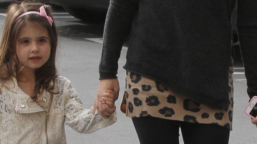 Sarah Michelle Gellar mit ihrer Mini-Ballerina