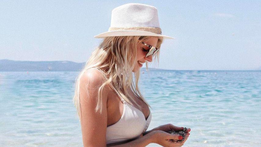 Sarah Nowak in Kroatien
