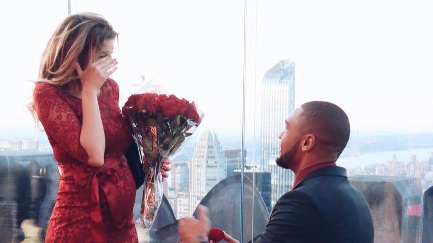 Sarah & Dominic: 1. Statement nach traumhaftem Heiratsantrag