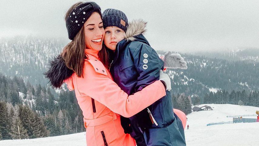 Sarah und Alessio Lombardi im Februar 2020
