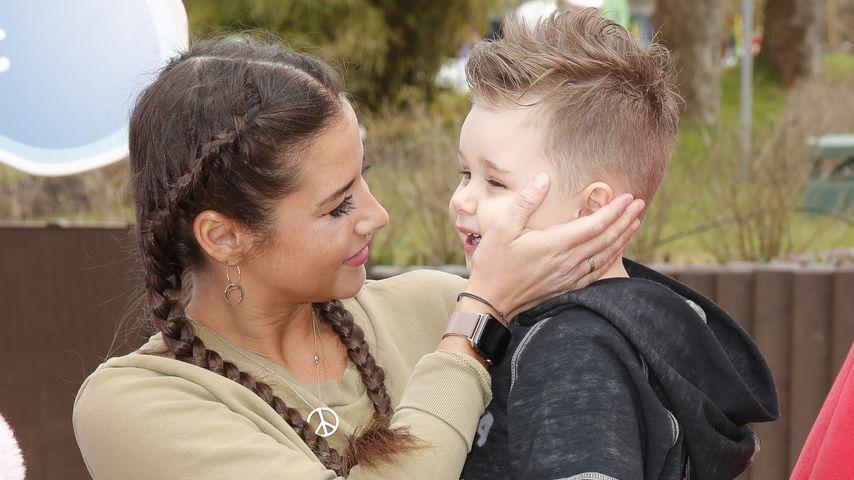 Sarah Lombardi stolz: Alessio braucht keine Windeln mehr