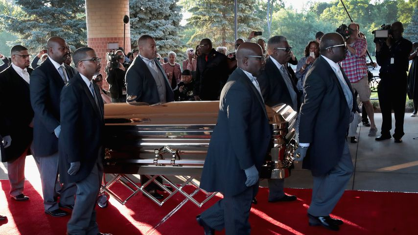 Trauerfeier von Aretha Franklin in Detroit