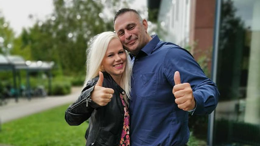 Sascha Bröhl und Tamara nach ihrer Scheidung