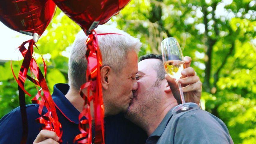 Ganz romantisch: Sascha Heyna macht Partner TV-Heiratsantrag