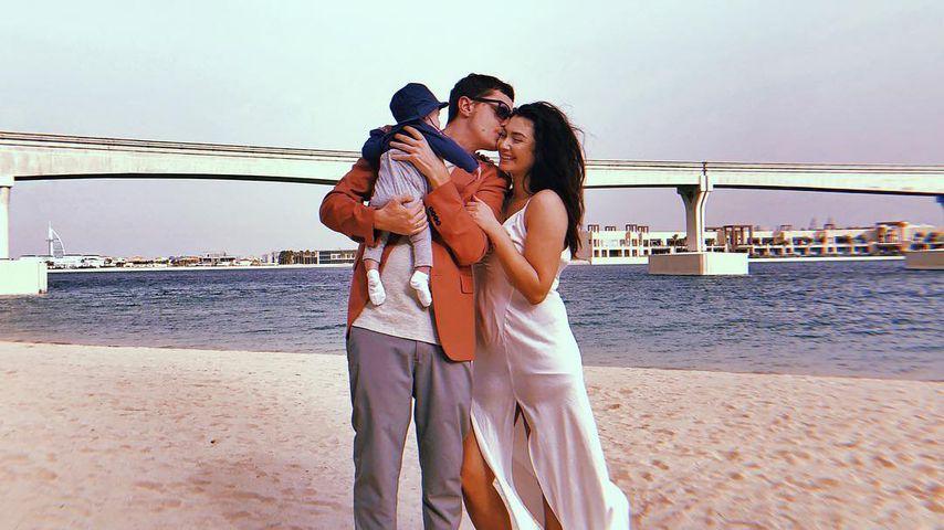 Baby Leonardo, Sascha Koslowski und Paola Maria