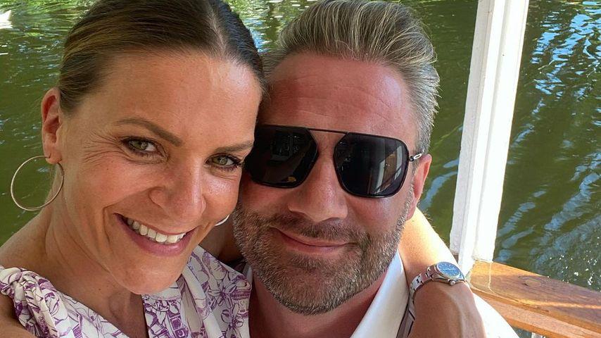 Sasha und seine Freundin Julia im August 2020 in Hamburg