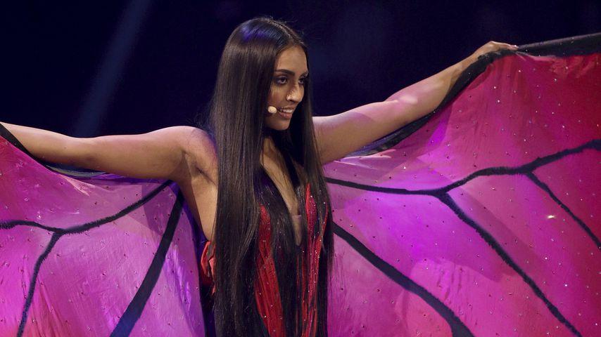 """Sayana beim """"Germany's next Topmodel""""-Finale 2019"""