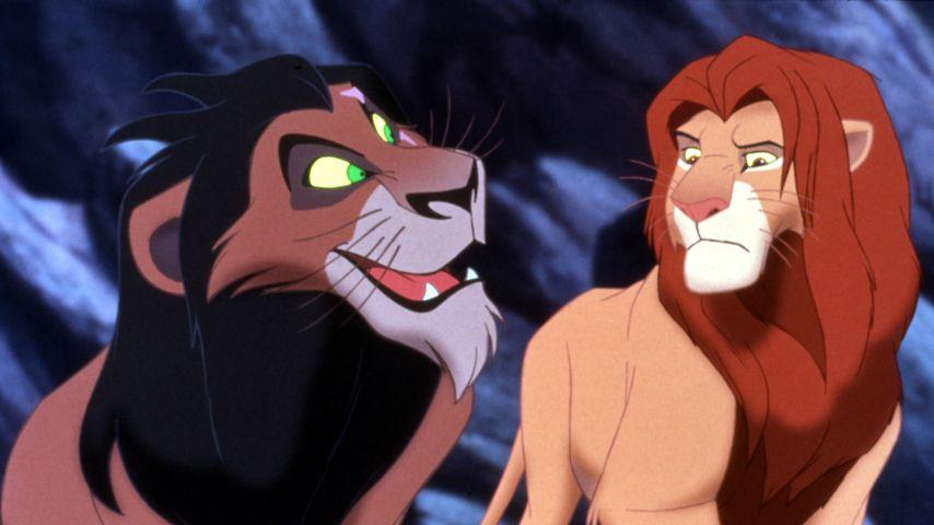"""Scar und Simba aus """"König der Löwen"""""""
