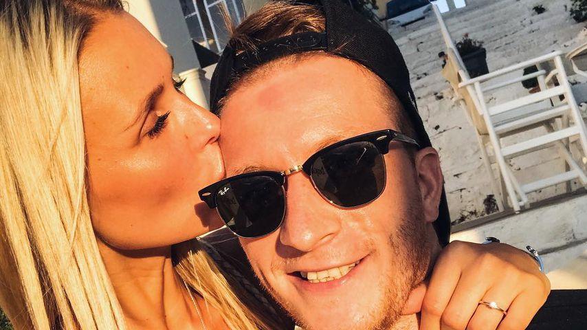 Seltener Paar-Moment: Scarlett küsst ihren Marco Reus!