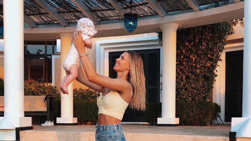 Drei Monate mit Baby: Mama-Tochter-Pic von Scarlett Gartmann