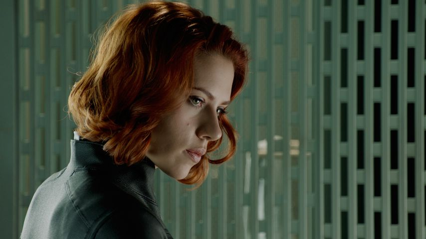 "Scarlett Johansson als Black Widow in ""The Avengers"""