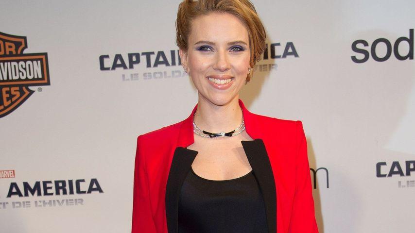 Scarlett Johansson: Kariere-Aus wegen des Babys?
