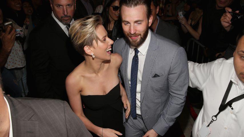 Superheldenliebe: Datet Scarlett Johansson etwa Chris Evans?