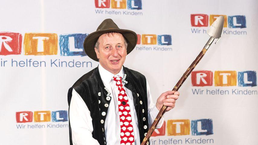 Schäfer Heinrich beim 24. RTL-Spendenmarathon