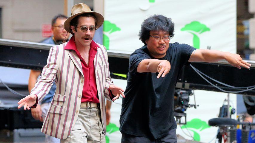 Schauspieler Jake Gyllenhaal und Regisseur Joon-ho Bong