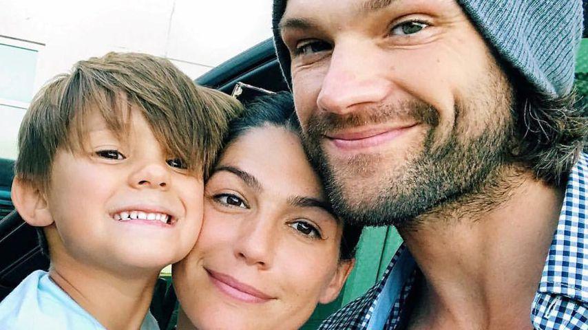 Jared und Genevieve Padalecki mit ihrem Sohn