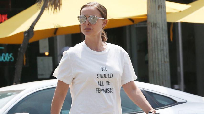 Wie bitte?! Natalie Portmans T-Shirt kostet 710 Dollar!