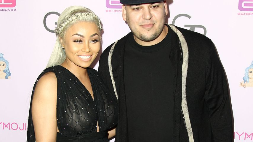 Blac Chyna & Rob: 1. Red-Carpet-Auftritt nach Baby-News