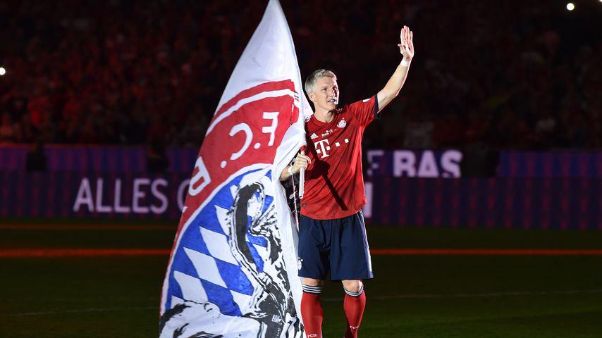 Bastian Schweinsteiger bei seinem FC Bayern München-Abschiedsspiel