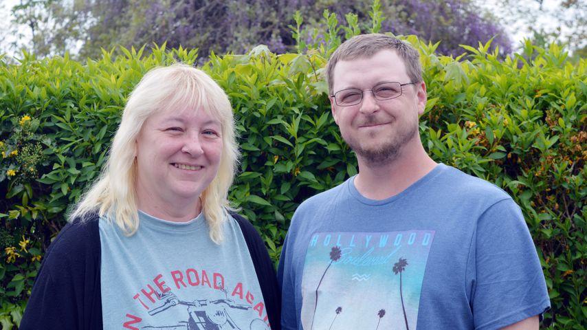 """""""Schwiegertochter gesucht"""" Kandidat Sven (rechts) und seine Mutter Jacqueline"""