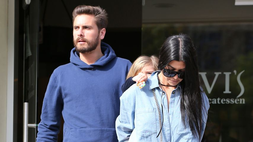 Kourtney Kardashian & Scott: Glücklich sieht anders aus