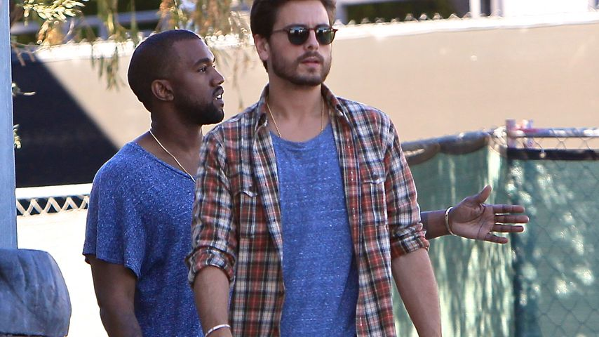 Scott Disick: Kanye West will Kinder-Kontaktverbot