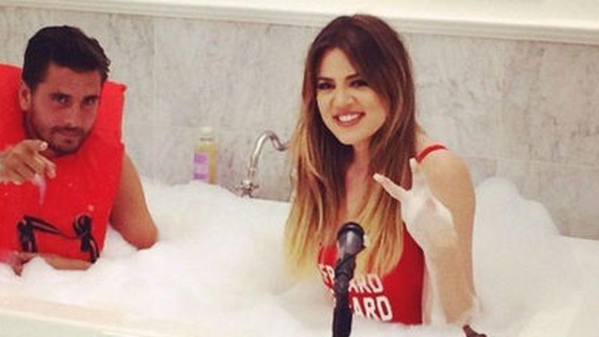 Hä? Khloe Kardashian planscht mit ihrem Schwager