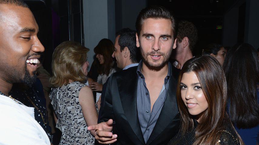 Scott Disick und Kourtney Kardashian, 2012