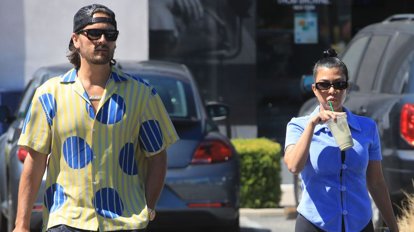 Scott Disick und Kourtney Kardashian in Malibu