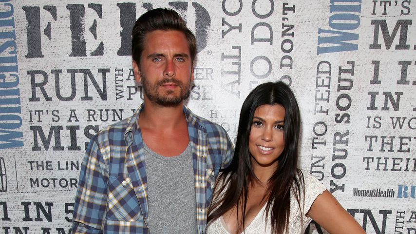 Scott Disick und Kourtney Kardashian 2014 in New York