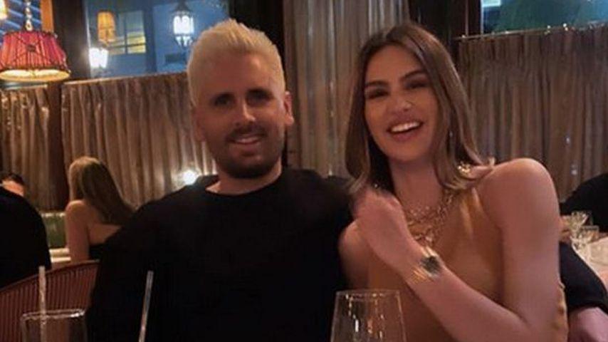 Scott Disick und seine Freundin Amelia Hamlin im Februar 2021