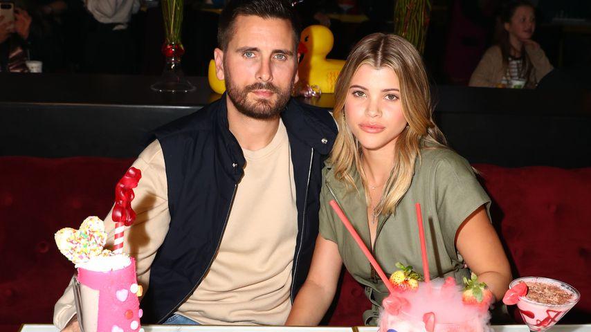 Scott Disick und Sofia Richie im Februar 2019